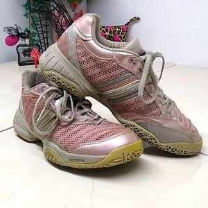 Adidas Stella Mccartney Metallic Pink & Gray Shoes